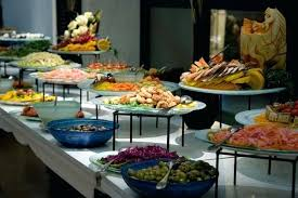 setting buffet table ideas buffet table decorations ideas about