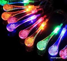 multi colored solar garden lights 20led solar fairy lights asg 001 solar string lights decorative