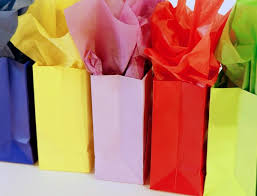110 count wrapping multi colored tissue paper bulk for