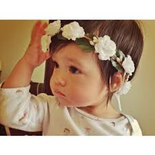 newborn headband baby child girl flower crown tie back newborn headband ph