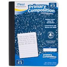 raised line writing paper amazon com mead primary composition book ruled 100 sheets 200 view larger