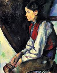 Madame Cezanne In A Red Armchair High Resolution Cezanne Images Copyright Free