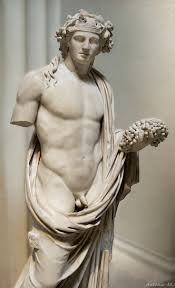 dionysus greek god statue dionysos was the fun loving god of high spirits strong emotions and