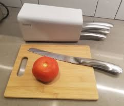 Kitchen Knives Set Reviews Review Montaig U0027s Stylish Kitchen Knife Set U2013 Special Coupon
