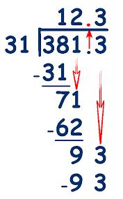 11 plus key stage 2 maths decimals dividing decimal numbers