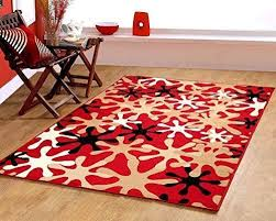 Modern Style Area Rugs Multicolor Splash Design Modern Contemporary Area Rug 645