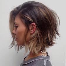 coupe de cheveux effil coupe cheveux mi dégradé effilé fashion designs