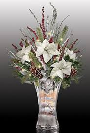 Crystal Vases For Centerpieces Thomas Kinkade Victorian Christmas Lights Up Floral And Crystal