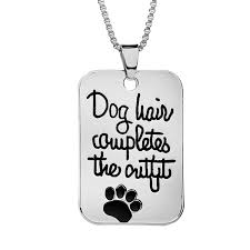 Name Charms For Necklaces Online Shop U0027dog Hair Completes The U0027 Lucky Dog Claw Pendant