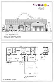 Rectangular Ranch House Plans Model Homes U0026 Floor Plans Marion Il New Horizons Homes Inc