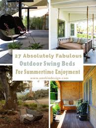 27 absolutely fabulous outdoor swing beds for summertime enjoyment