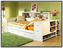 Bookcase Daybed With Drawers And Trundle Full Size Daybeds With Storage U2013 Heartland Aviation Com