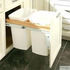 simplehuman in cabinet trash can cabinet door trash can ibbc club