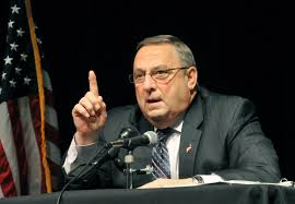 maine gov paul lepage in voicemail u0027prove i u0027m a u0027 time com