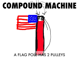 Flag Pole Pulley Simple Machines By Bowen Holder