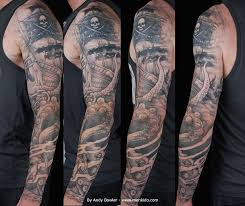 octopus tattoo sleeve tattoo collections