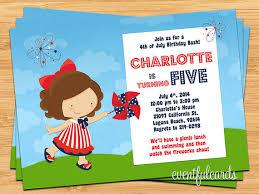 fourth of july birthday invitations dolanpedia invitations ideas