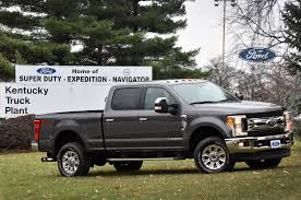 Ford F250 Utility Truck - ford invests 1 3 billion in kentucky truck plant