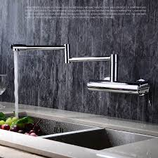 wall mount faucets kitchen free shipping quality wall mount kitchen faucet mixer tap swivel