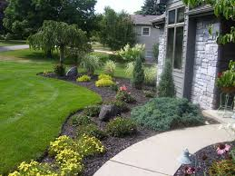Front Yard Tree Landscaping Ideas Lovable Home Landscape The Benefit Of Home Landscape Front Yard