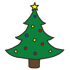 clipart of christmas tree 117988