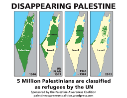 Map Of Palestine Pro Palestinian Poster Sparks Heated Response From Pro Israeli