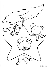 mickey mouse new years coloring pages christmas ornament coloring pages star ornament mice coloring page