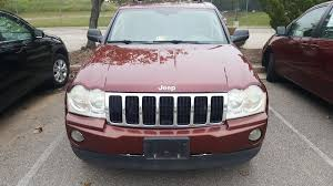 2007 jeep grand grille pre owned 2007 jeep grand limited suv in midlothian