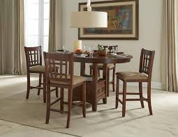 5 Piece Dining Room Sets by Intercon Mission Casuals Oval Dining Table Set With Cushioned Side