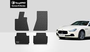 maserati chrome gold amazon com toughpro maserati ghibli floor mats set all weather
