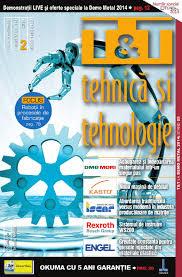 t u0026t tehnica si tehnologie nr 74 2 2014 by tehnic media issuu