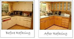Refinish Kitchen Cabinet Doors Replacing Kitchen Cabinet Doors Before And After Motauto Club