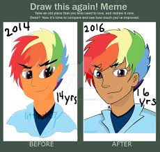 Rainbow Meme - draw this again meme ft rainbow blitz by littleali078 on deviantart