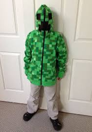 Minecraft Costume Minecraft Creeper Costumes Parties Costume