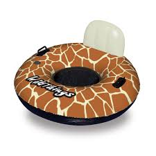 Inflatable Pool Floats by Swimline Wildthings 40 In Giraffe Inflatable Pool Float Walmart