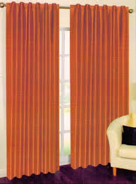 Triple Window Curtains Elegance Linen Triple Layer Faux Silk Solid Blackout Window