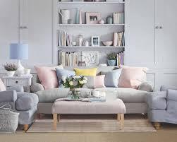 coussin canapé gris peinture murale et combinaisons couleurs intérieur moderne