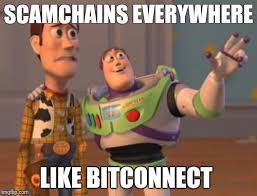 Scam Meme - woody finds out bitconnect is a scam meme steemit