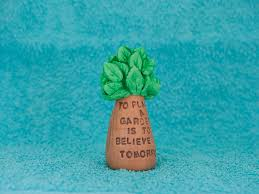 housewarming gifts for first home to plant a garden is to believe in tomorrow original gift