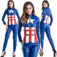 Avengers Halloween Costume Halloween Costumes Female Captain America Avengers Union