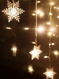 home decor snowflake pendant led string light