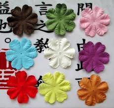 Flowers For Crafts - aliexpress com buy craft paper flowers for scrapbooking paper