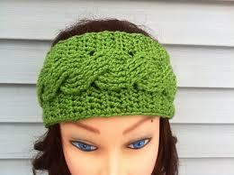 crochet headbands ravelry crochet cable headband pattern by carrissa