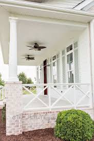 Drysnap Under Deck Rain Carrying System by Elevated Deck W Patio Below Love The Brick Columns And The