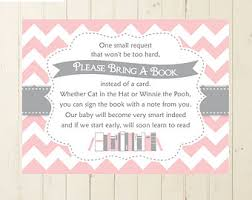 bring a book instead of a card poem winnie the pooh baby shower book insert bring a book card