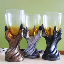 3d skull dragon claw goblet western style cup for bear and sales