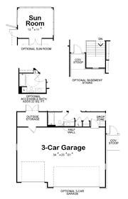 Bi Level House Plans With Attached Garage Craftsman Style House Plan 2 Beds 2 00 Baths 1436 Sq Ft Plan 20