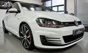 white volkswagen gti used 2013 volkswagen golf gti mk7 gti performance for sale in