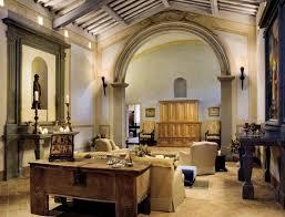 Interior  Rustic Mediterranean Living Room Interior Design Ideas - Nature interior design ideas