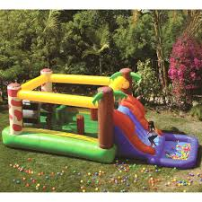 blast zone magic castle inflatable bounce house walmart com